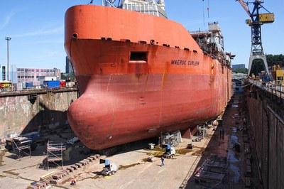 DYNAJET assainit les bateaux offshore les plus gros du monde