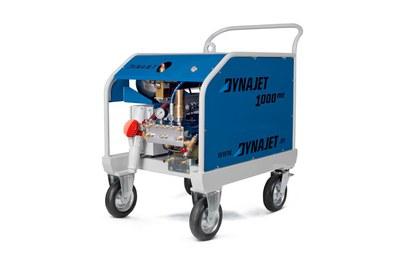 DYNAJET développe la première machine à 1000 bar sans câble de télécommande