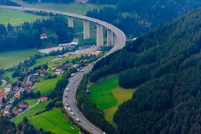 Assainissement de l'autoroute de la Brenner avec DYNAJET