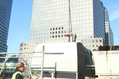 Dynajet au Ground Zero à New York