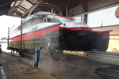 L'entreprise Katamaran-Reederei Bodensee fait confiance à DYNAJET.