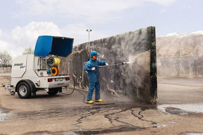 Nettoyage efficace de silos-tranchées avec DYNAJET