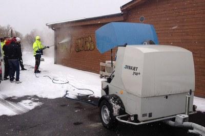 Test de résistance du DYNAJET 350th en Suède