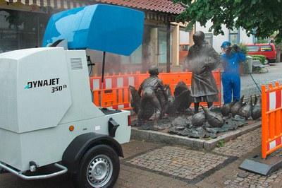 Nettoyage de monuments