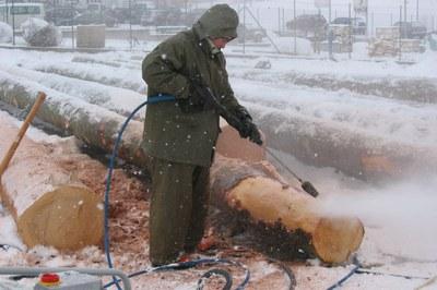 Protéger les nettoyeurs haute pression du gel & les rendre résistants au froid