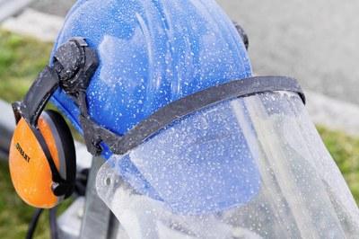 Equipement de protection individuelle lors du travail avec les nettoyeurs haute pression DYNAJET