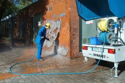 Retirer efficacement les graffitis