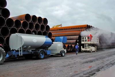 Nettoyer les pipelines à haute pression avant leur installation