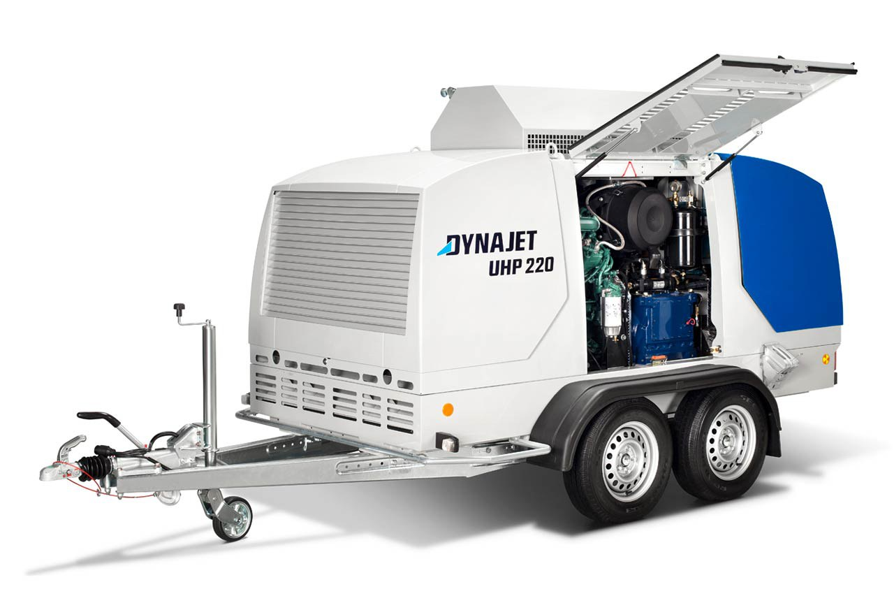DYNAJET UHP 220 1200/64 T tractable avec capot