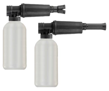 Canon à mousse M22x1,5 f.e. 300bar max. 80°C inkl. 2l-Flasche