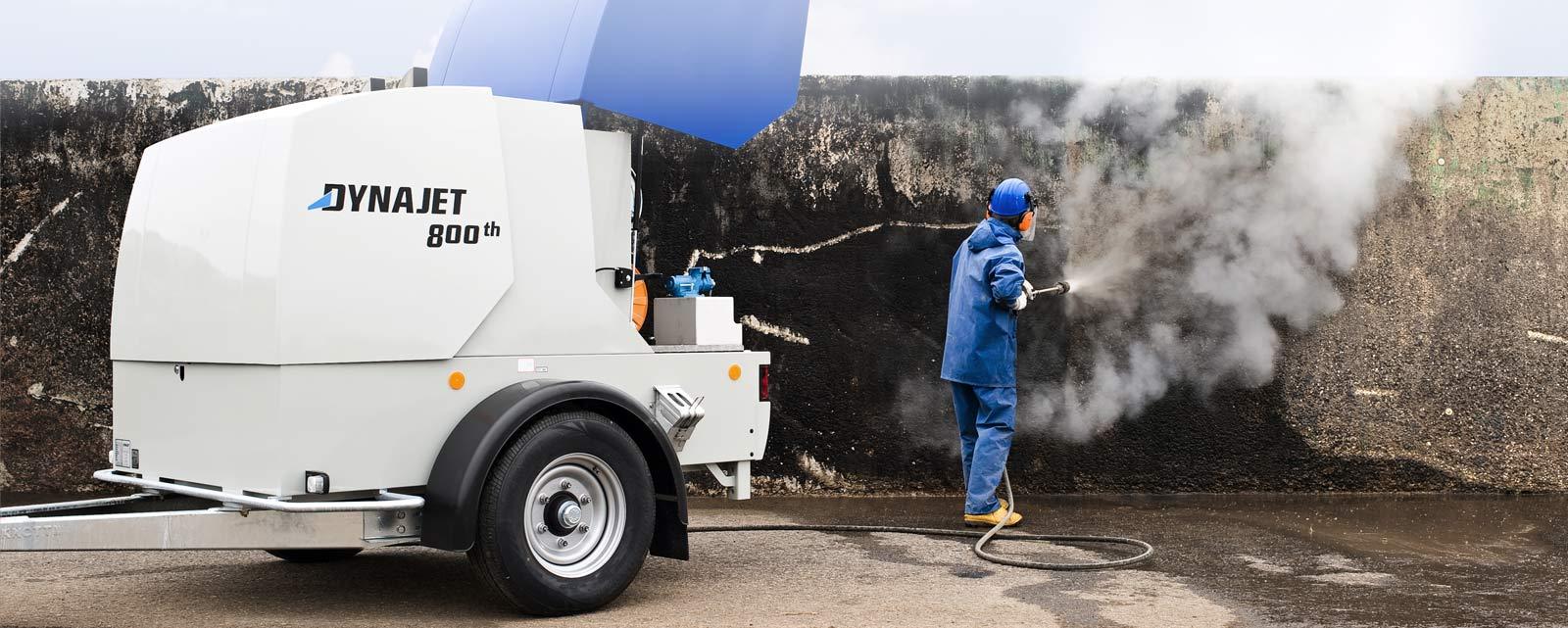 Les nettoyeurs et les accessoires haute pression de DYNAJET sont spécialisés dans les secteurs d'activité