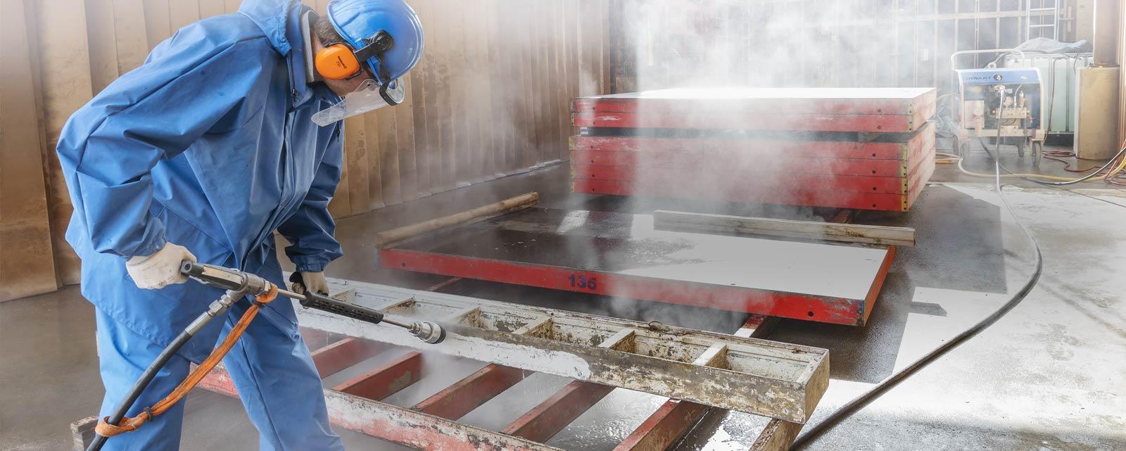 DYNAJET offre toujours l'outil idéal pour répondre aux exigences les plus élevées des chantiers, qu'ils soient de petite ou de grande envergure